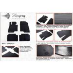 Коврики в салон Mazda 6 2013- резиновые - Stingray