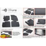 Резиновые коврики Citroen C-Elysse 2013- резиновые - Stingray