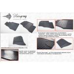 Коврики в салон Mercedes Sprinter I 1995-2006 резиновые - Stingray