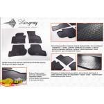 Коврики в салон Seat Toledo III 2004- резиновые - Stingray