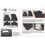 Резиновые коврики BMW X5 Е53 1999-2006 - Stingray