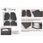 Резиновые коврики Honda Accord 7 2003-2008 - Stingray