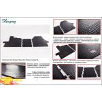 Резиновые коврики Citroen Jumper 2006- резиновые - Stingray