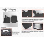 Резиновые коврики Smart 1998-2014 - Stingray