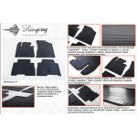 Коврики в салон Kia Sorento 2013- резиновые - Stingray