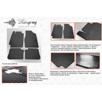 Резиновые коврики Toyota Camry XV30 2002-2006 - Stingray
