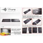 Коврики в салон Twin (1550х450)мм резиновые - Stingray
