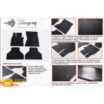 Резиновые коврики BMW X5 Е70 2007-2013 резиновые - Stingray