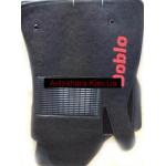 Коврики текстильные FIAT DOBLO с 2010 серые в салон