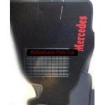 Коврики текстильные MERCEDES SPRINTER с 1995-2006 черные в салон