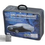 Тент автомобильный CC13401 S седан серый с подкладкой PEVA + PP Cotton/ 406х165х120 к.з