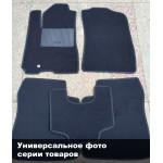 Коврики текстильные MITSUBISHI L 200 с 2013 черные в салон