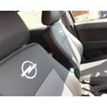 Чехлы на сиденья Opel Combo C (1+1) с 2001–11 г - Элегант модель Классик