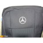 Чехлы для Mercedes Atego (1+1) с 2005 г -автоткань - модель Classic - Элегант