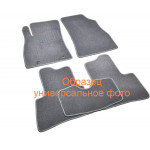 Ковры салона ворс Honda CR-V (2006-2012) Бежевые Premium - AVTM