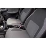 Чехлы на сиденья авто для ВАЗ 2113 Classic Style серая либо красная нить - MW Brothers