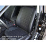 Авточехлы Kia CARENS 5м (UN) 2006-2012 из экокожи бюджет Pilot-Luxe Союз Авто