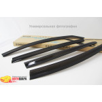 Дефлекторы окон для TOYOTA RAV 4 2013 - AUTOCLOVER