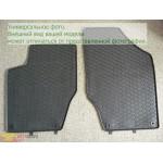 Коврики Skoda OCTAVIA III 2013- резиновые цвет черный GEPARD