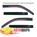 Дефлекторы окон Toyota CAMRY 2011 ТЕМНЫЙ 4 ШТ. - Lavita