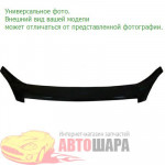 Дефлектор капота  TOYOTA LAND CRUISER 120 03-09  ,темн. - EGR