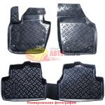 Коврики BYD F3 2005 черные 5 шт - Aileron