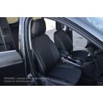 Чехлы на сиденья VW T-5 1+1 - серия Tex Line - эко кожа+ткань - Автомания