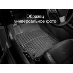 Ковры салона Mazda 6 2013- с бортиком задние, черные - Weathertech