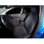 чехлы салона Toyota RAV 4 2006-2012 Жаккард /темно-серый - Seintex