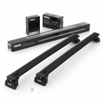 Багажник BMW 5-серия Touring 2010- Thule 753 WingBar Black (TH-753;TH-961b;TH-4022)
