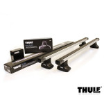 Багажник Daewoo Lanos седан 1997-03 Thule SlideBar (TH-754; TH-891; TH-1107)