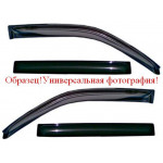 Дефлекторы окон  Honda Accord VII (CP USA) Sd 2007-2011 - COBRA TUNING