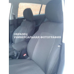 Чехлы салона Volkswagen Caddy 2010 ->,автоткань, Серый/Серый 1+1 - Virtus