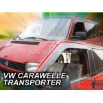 Ветровики на VW CARAWELLE/TRANSPORTER 1990-2003R (OR) два передних клеятся на скотче - HEKO