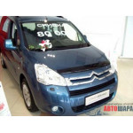 Дефлктор капота CITROEN Berlingo/Пеж.Партнер 2008- - SIM