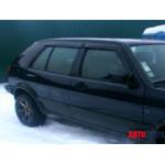 Ветровики для VW Golf III 5d 1991-1998 накл.деф.окон Cobra-Tuning