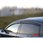 Ветровики для VW Passat B5 седан 1997-2001-2005 накл.деф.окон Cobra-Tuning