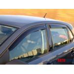 Ветровики для VW Polo V хетчбек 5d 2010 накл.деф.окон Cobra-Tuning