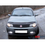 Дефлектор капота Fiat Albea c 2007 г.в. - VipTuning