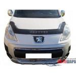 Дефлектор капота Peugeot Partner с 2008 г.в. - VipTuning