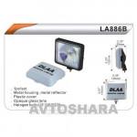 Фары дополнительные DLAA 886 BW/H3-12V-55W/136*116mm/крышка