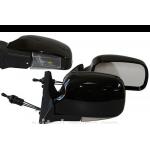 Зеркало боковое YH-3107A LADA 04,05,07 Black light черное с поворотом, 2шт. в комплекте