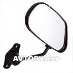 Зеркало боковое ЗБ F2 BLACK метал, черное, 2шт. в комплекте