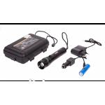 Фонарик диодный 8455-8000W/10 000W Z XPE /аккум./12V/220V/зум