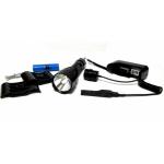 Фонарик диодный BL-QC8 - 18 000W, Q5 CREE /аккум./зарядное 220V/12V/под ружье
