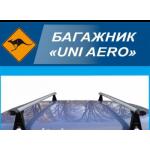 Багажник UNI AERO на водосток, поперечины 120см (UNI AERO 120)