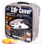 Тент автомобильный HC13403 2XL хетчбек серый Peva+non Woven 432х165х125 к.з/м.в.дв/м.б.
