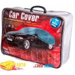 Тент автом. CC13402 XL седан серый с подкладкой PEVA+Non PP Cotton/534х178х120 к.з