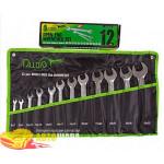 Alloid НК-2051-12 Набір ключів комбінованих, 12 предметів, 6х7 - 30х32 мм.