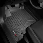 Ковры салона Infiniti QX56 2010- с бортиком, черные передние - Weathertech